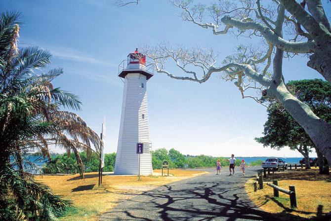 Cleveland Lighthouse Image Tour Queensland Australia
