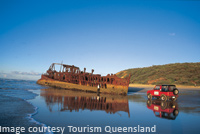 Explore Wrecks at Fraser Island