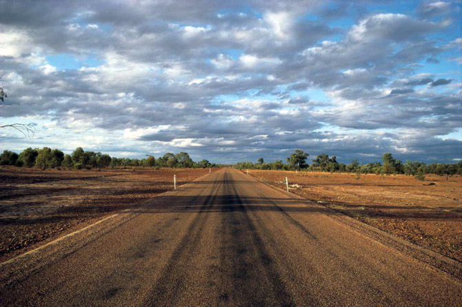 Cunnamulla Australia  City new picture : Cunnamulla Eulo Road Queensland Australia