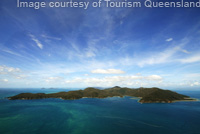 Whitsundays Islands Aerial View