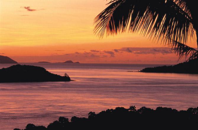 Sunset Waters  Hamilton Island